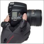 カメラの撮影時に役立つ、タッチパネル対応フォトグローブ