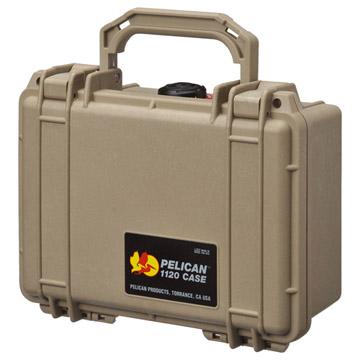 完全防水ケース PELICAN 1120HK デザートタン