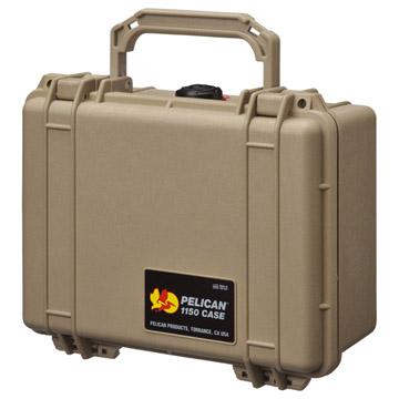 完全防水ケース PELICAN 1150HK デザートタン