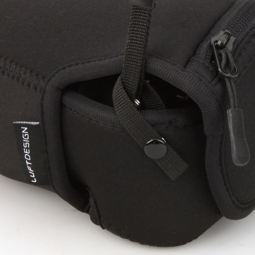 Hakubaruto設計修身的相機外套S-60