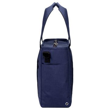 側面:折り畳み傘やペットボトルの収納が可能なポケット付き