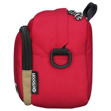 側面:インナーバッグとしても使用しやすい、厚みを抑えたスリムなサイズ