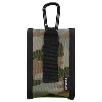背面:持ち運びに便利なベルト通し付き