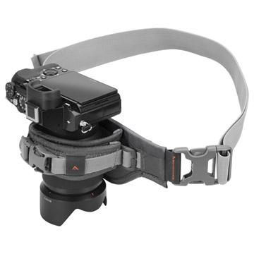 ミラーレスカメラの装着例