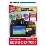 Canon EOS 80D/70D 専用 液晶保護フィルム MarkII