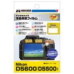 Nikon D5600 / D5500 専用 液晶保護フィルム MarkII