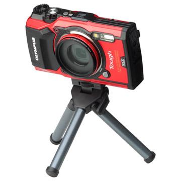角度調整可能なカメラ取付部
