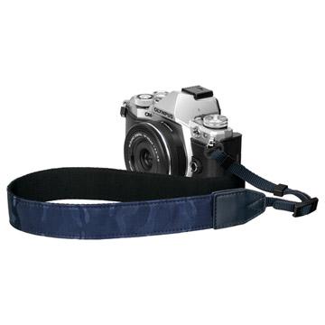 カメラストラップ プラスシェル ジャガードカモストラップ 30 ネイビー