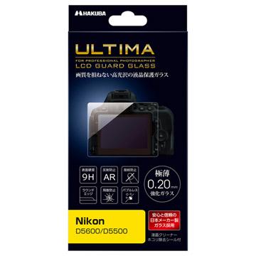 Nikon D5600/D5500 専用 ULTIMA 液晶保護ガラス