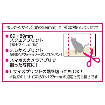ましかくサイズ(89×89mm)とは