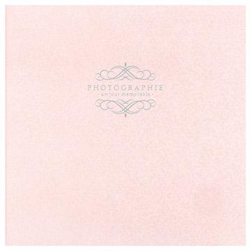 写真台紙 ペーパーSQ台紙 No.171 6切サイズ 3面 ピンク