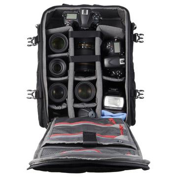 カメラ機材の収納例