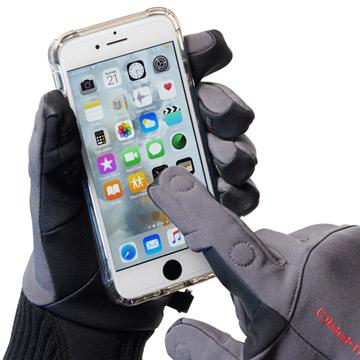 指先を閉じた状態でも、タッチパネル操作可能
