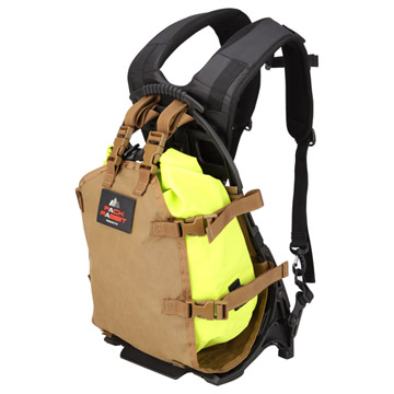 不定形の荷物の持ち運びも可能にするカーゴキャリアー