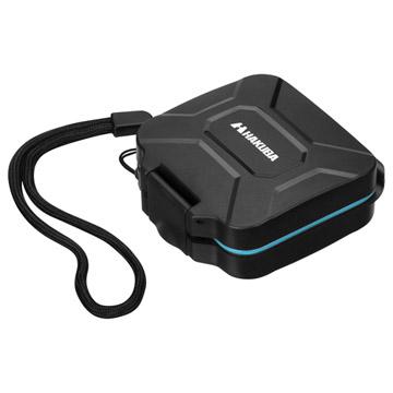 ハードメモリーカードケース SD4(SD/microSDカード用) ブルー