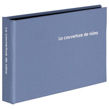 ポケットアルバム nuno poche L 40枚収納 ブルー