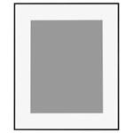 アルミ額縁「HFA-03」半切サイズ ブラック