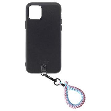 Straps iPhone 11 Proケース+フィンガーストラップ クラウド