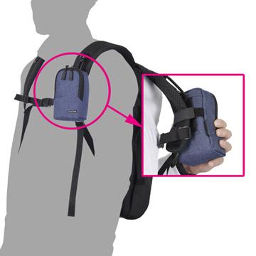背面固定ベルト使用例
