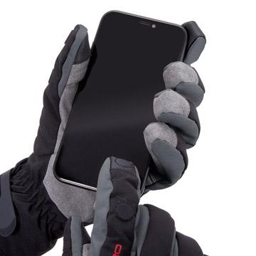指先を閉じた状態でもタッチパネル操作可能