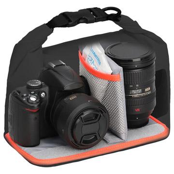 レンズ付きミラーレス~エントリークラス一眼カメラとレンズ1本を保管可能