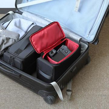 キャリーカート内のインナーバッグとしても使えます