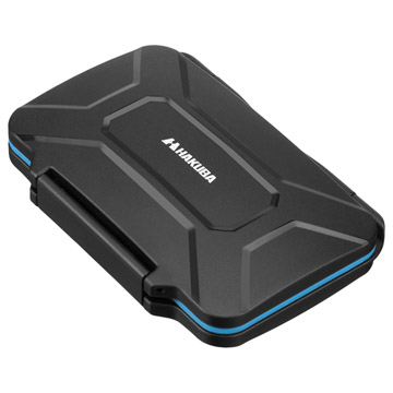 ハクバ ハードメモリーカードケース XQD6(XQDカード用) ブルー