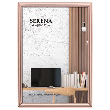 メタルフォトフレーム セレーナ01 Lサイズ 1面 ピンク