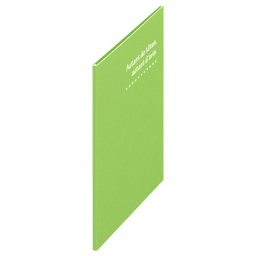 0.7mm厚の薄型の表紙