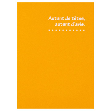 ハクバ 写真台紙 ランス ドゥ Lサイズ 2面 オレンジ