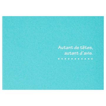 ハクバ 写真台紙 ランス ドゥ Lサイズ 2面 ブルー