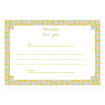 メッセージカード付き