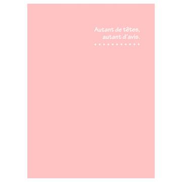 ハクバ 写真台紙 ランス ドゥ 2L(カビネ)サイズ 3面 ピンク