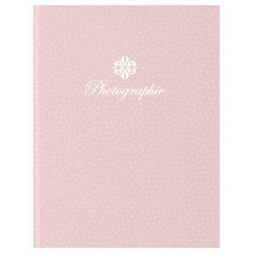 ハクバ 写真台紙 ランス フルル Lサイズ 2面(タテ・タテ) ピンク