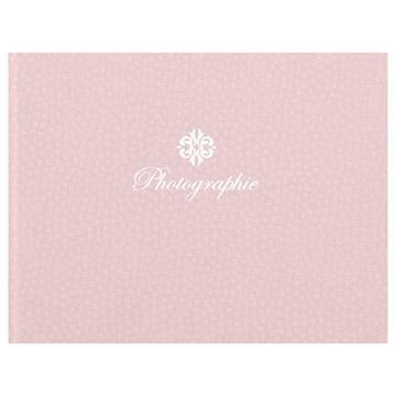 ハクバ 写真台紙 ランス フルル Lサイズ 2面(ヨコ・ヨコ) ピンク