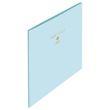 表紙厚み:アンコなし(1mm)(写真はブルー)
