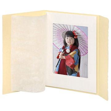 写真を保護し高級感を演出する和紙付き