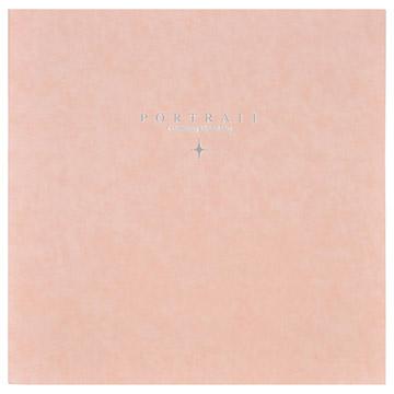 ハクバ スクウェア台紙 No.2020 A4サイズ 2面 ピンク