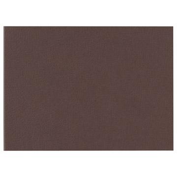 ハクバ お手軽写真台紙 ランス グレイン 2Lサイズ 2面 (ヨコ) ブラウン