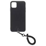 Straps iPhone 11 Pro Maxケースセットスパークルブラック