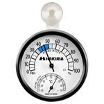 ハクバ 温湿度計 C-82 ブラック