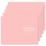 ハクバ 写真台紙 ランス ドゥ Lサイズ 2面 5枚セット ピンク