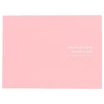 ハクバ 写真台紙 ランス ドゥ 2L(カビネ)サイズ 2面 ピンク