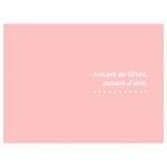 ハクバ 写真台紙 ランス ドゥ Lサイズ 3面 ピンク