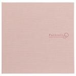 ハクバ スクウェア台紙 No.2730 2L(カビネ)サイズ 2面 ピンク