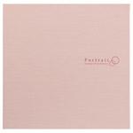 ハクバ スクウェア台紙 No.2730 6切サイズ 2面(角×2枚) ピンク