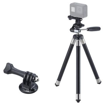 付属のアクションカメラ用マウントを使用してアクションカメラでの撮影も可能