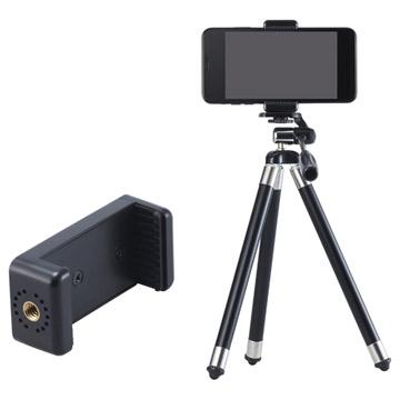 付属のモバイルホルダーを使用し、スマートフォンでの撮影が可能