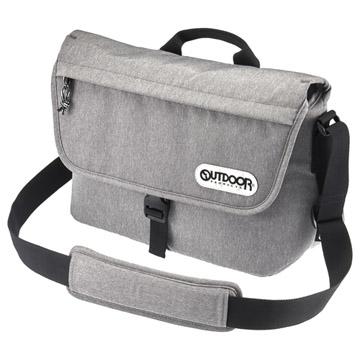 OUTDOOR(アウトドア) カメラショルダーバッグ 05 ヘザーグレー