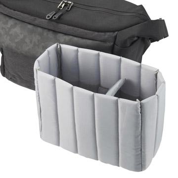 収納物の形状にあわせて変形するインナーケース